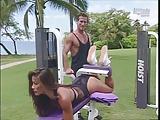 Kiana Tom Feels Workout In Bikined Ass (16)