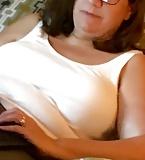 Wife's tank top tits (4)