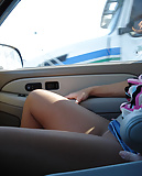 Pantyhosed passenger distracting drivers (20)