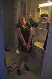 Enjoying myself in shower - a secret photo by my boyfriend (2)