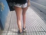 Voyeur teen whore street minishorts (14)