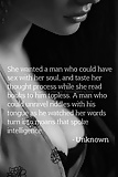She wanted a man who could  have sec with her soul..... (17)