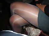 toying under pantyhose (8)